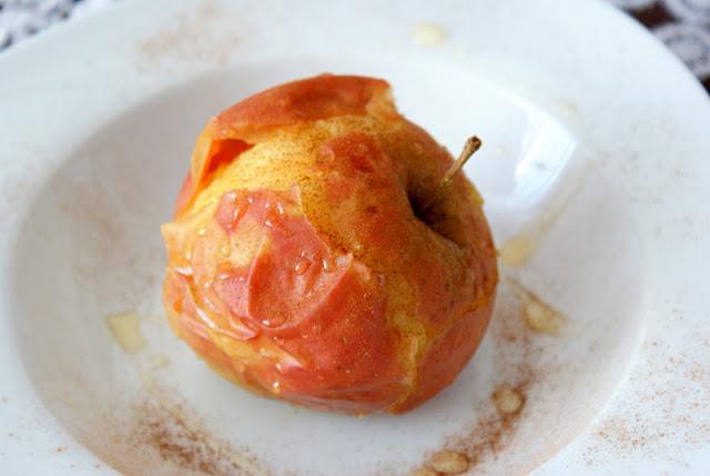 pieczone jablka,cynamon,syrop z agawy, sklep skworcu,