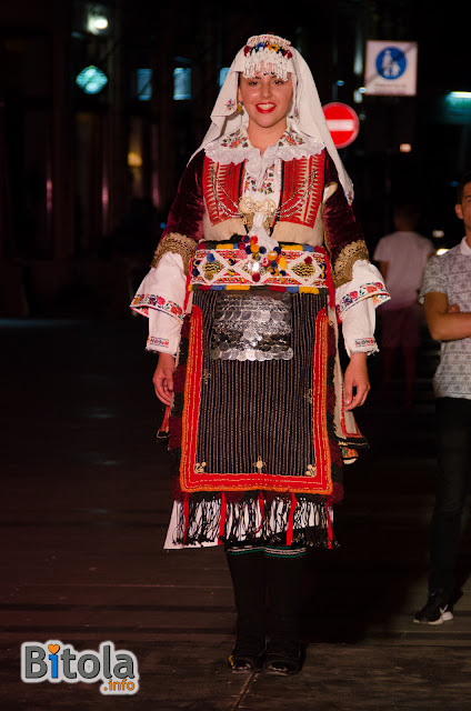 Macedonian national costume - Ethnic area Struski Dtrimkol
