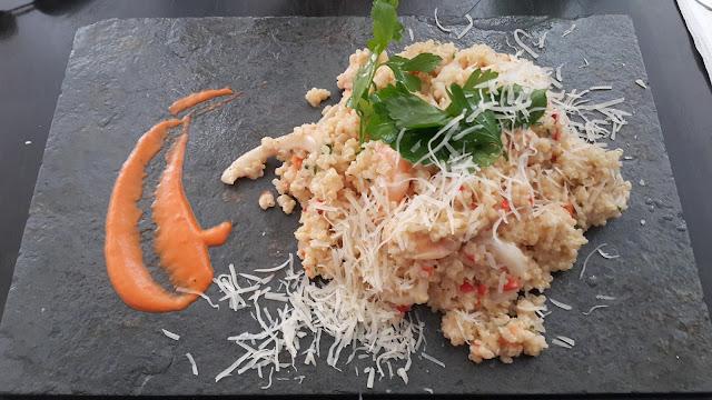 Risoto de Quinoa com Frutos do Mar - La Casona - San Pedro de Atacama