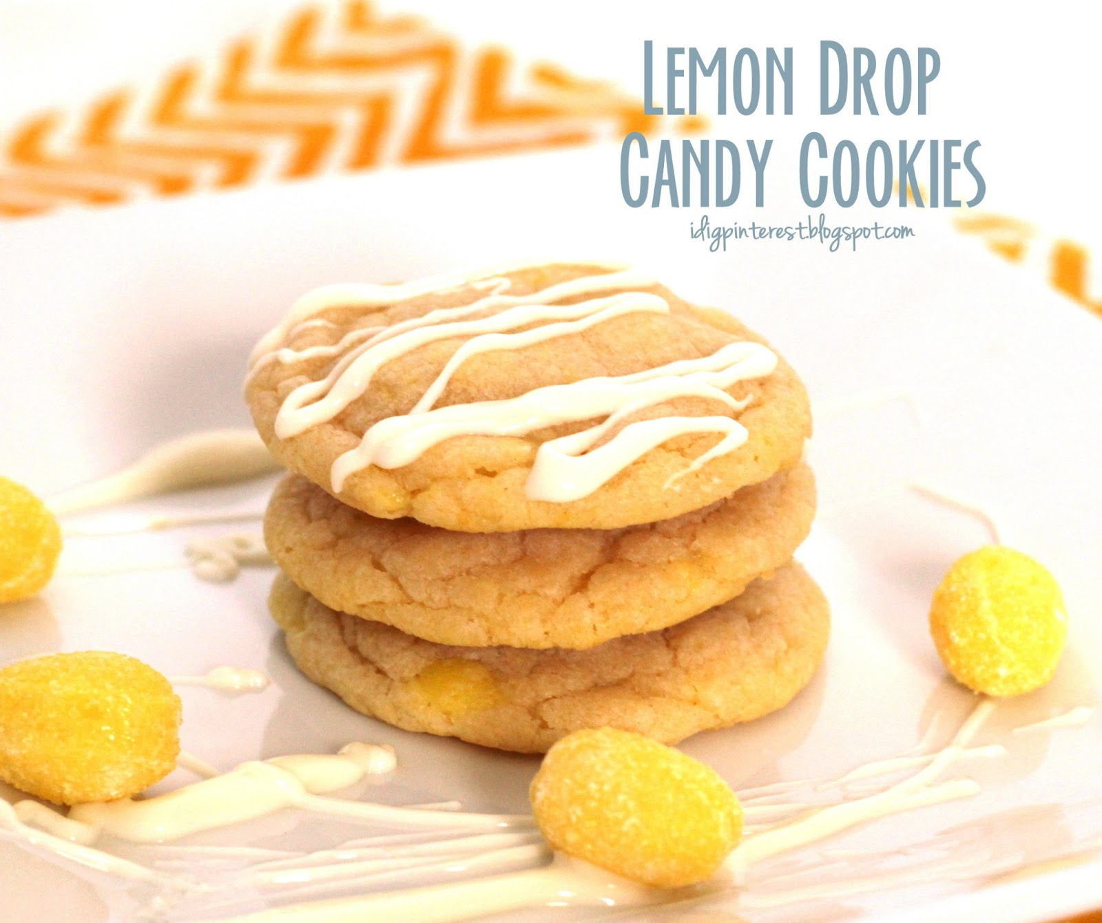 Lemon Drop Candy Cookies - I Dig Pinterest