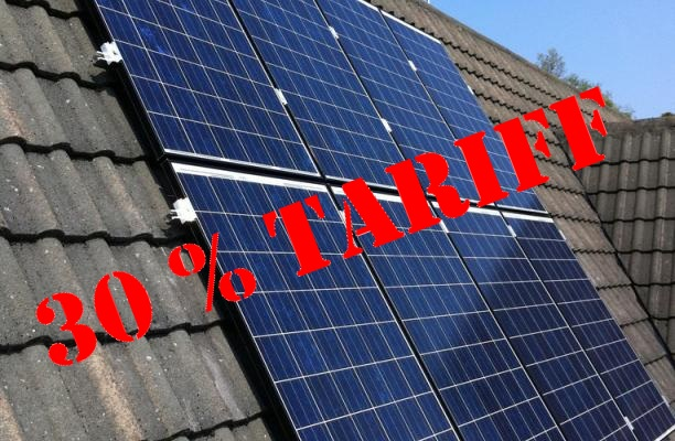 30% Tariff Imposed on US Solar Imports