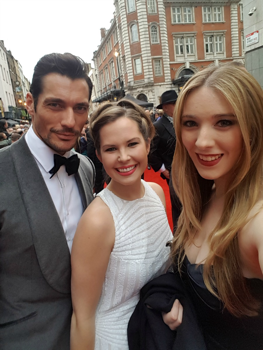 David Gandy Olivier Awards 2016