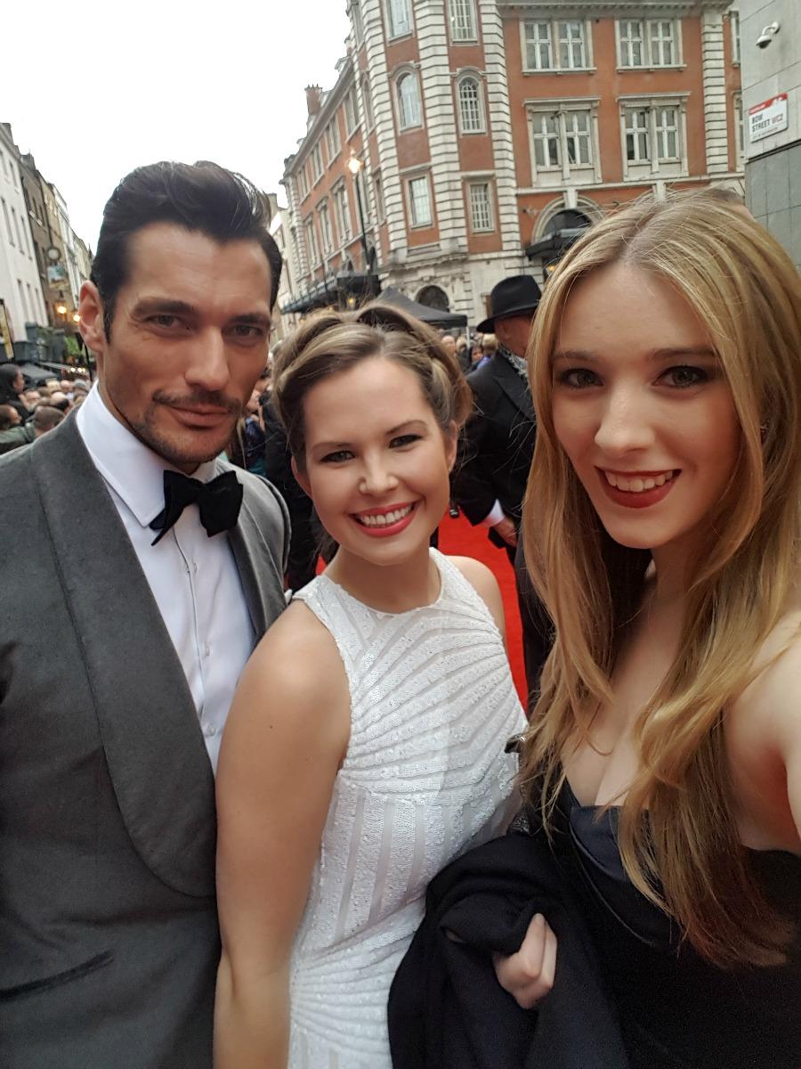 David Gandy Olivier Awards 2016