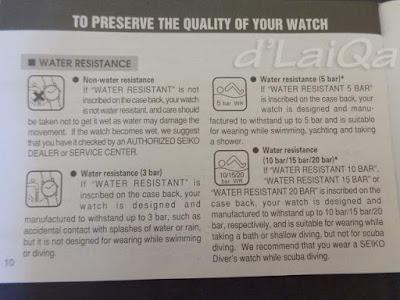 panduan pengguna arloji merk Seiko (1)