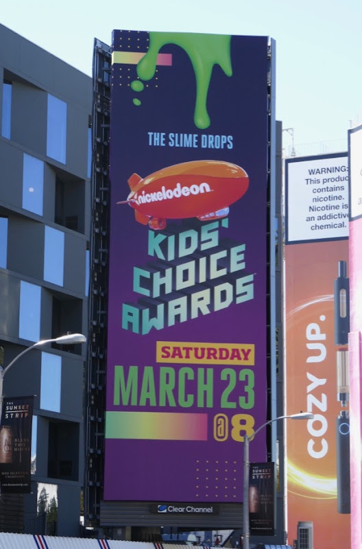Nickelodeon Kids Choice Awards 2019 billboard