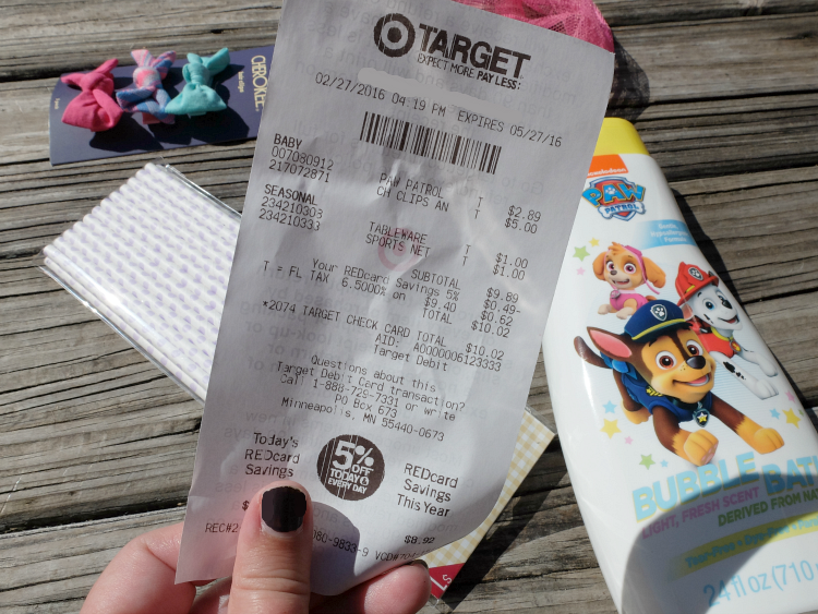 Sweet Turtle Soup: $10 at Target - March link up