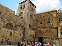 Church of The Holy Sepulchre: Christians believe Jesus was crucified, buried, and rose again here.