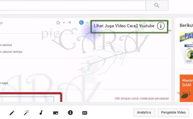 penggunaan maksimal Cara paling mudah pasang kartu youtube
