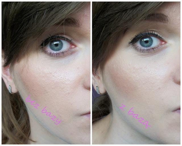 efekt baza pod makijaż