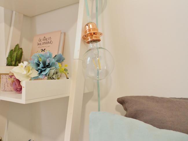 Lámpara auxiliar DIY para mi habitación