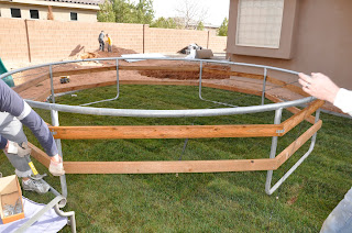 Diy Inground Trampoline Instructions All Things Thrifty