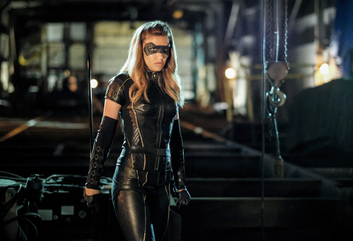 Juliana Harkavy como Black Canary en Arrow de CW