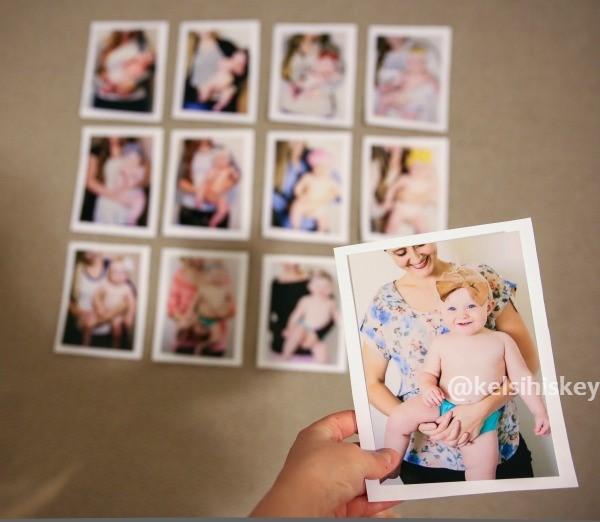 Creative monthly baby photo ideas