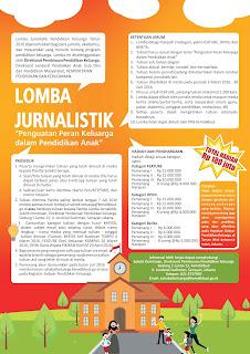 TERBARU... Lomba Jurnalistik Resmi Kemdikbud, Total Hadiah Rp. 180 Juta