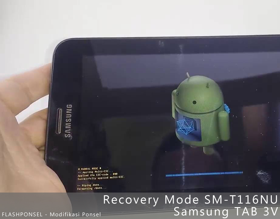 Recovery Mode Samsung TAB 3 (T116NU)