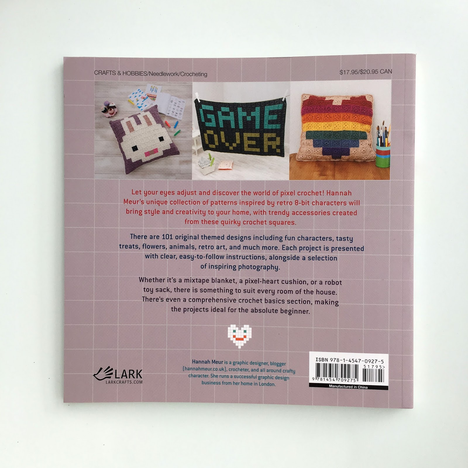 If you're interested in getting a copy, visit your local craft stores or  online here.