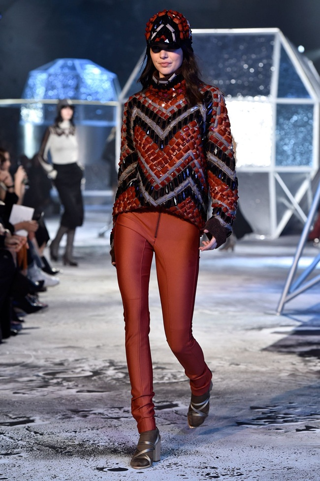 H&M Studio Fall 2015 Beaded Turtleneck Sweater