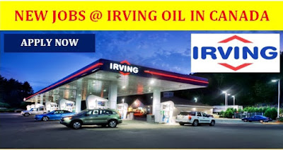 New Jobs At Irving Oil In Canada