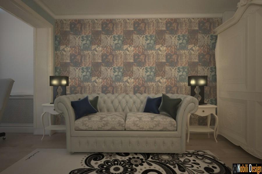 Amenajari si decoratiuni interioare cu mobila clasica de lux - Design interior case vile in Bucuresti