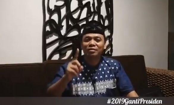 Gus Nur: Jangankan TGB, Seandainya HRS Dukung Jokowi, Saya tak Akan Dukung, Itu Prinsip!