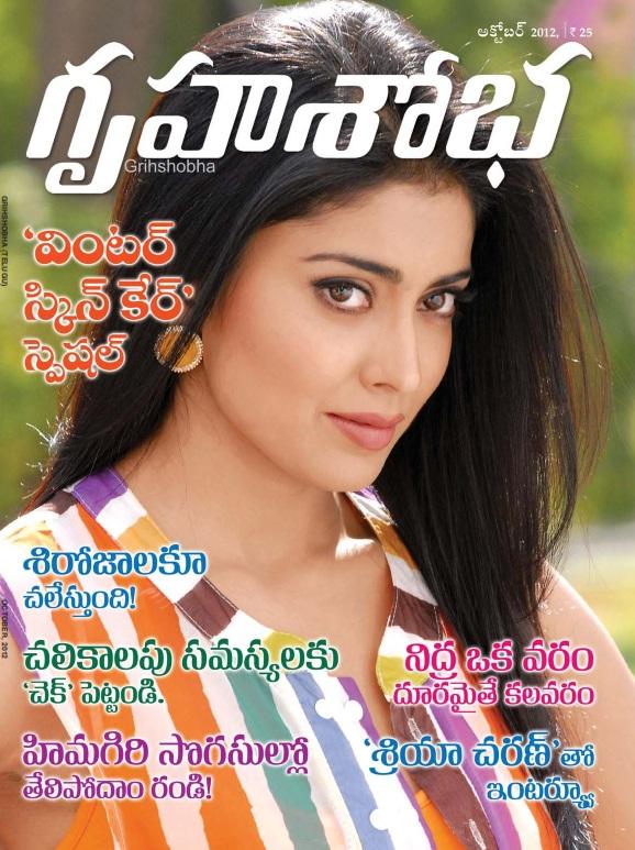 Gruha Shoba Pdf Telugu Magazine October 2012, Free