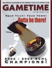 Vernon Vipers 2003-04 Program (First Edition)