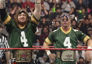 WWE / WWF Royal Rumble 1998 - The Legion of Doom challenged the New Age Outlaws for the tag titles