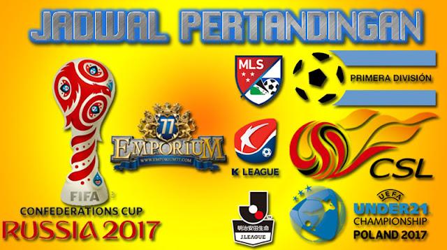 Jadwal Bola Terkini, Sabtu 09-10 Desember 2017