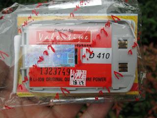 Baterai Samsung Jadul D410 Merk Valentine