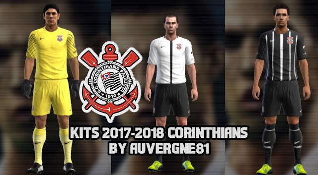 PES 2013 Corinthians 2017/2018 Kits by Auvergne81