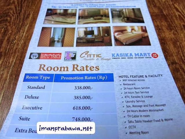 Tarif Hotel Cittic Batam