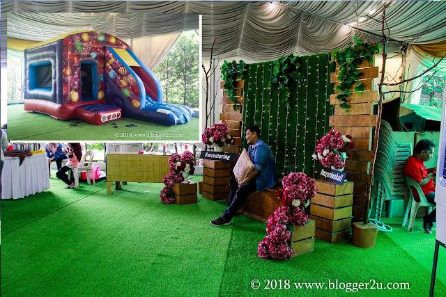 Pakej Lengkap Perkahwinan Dewan MZ Catering Bangi