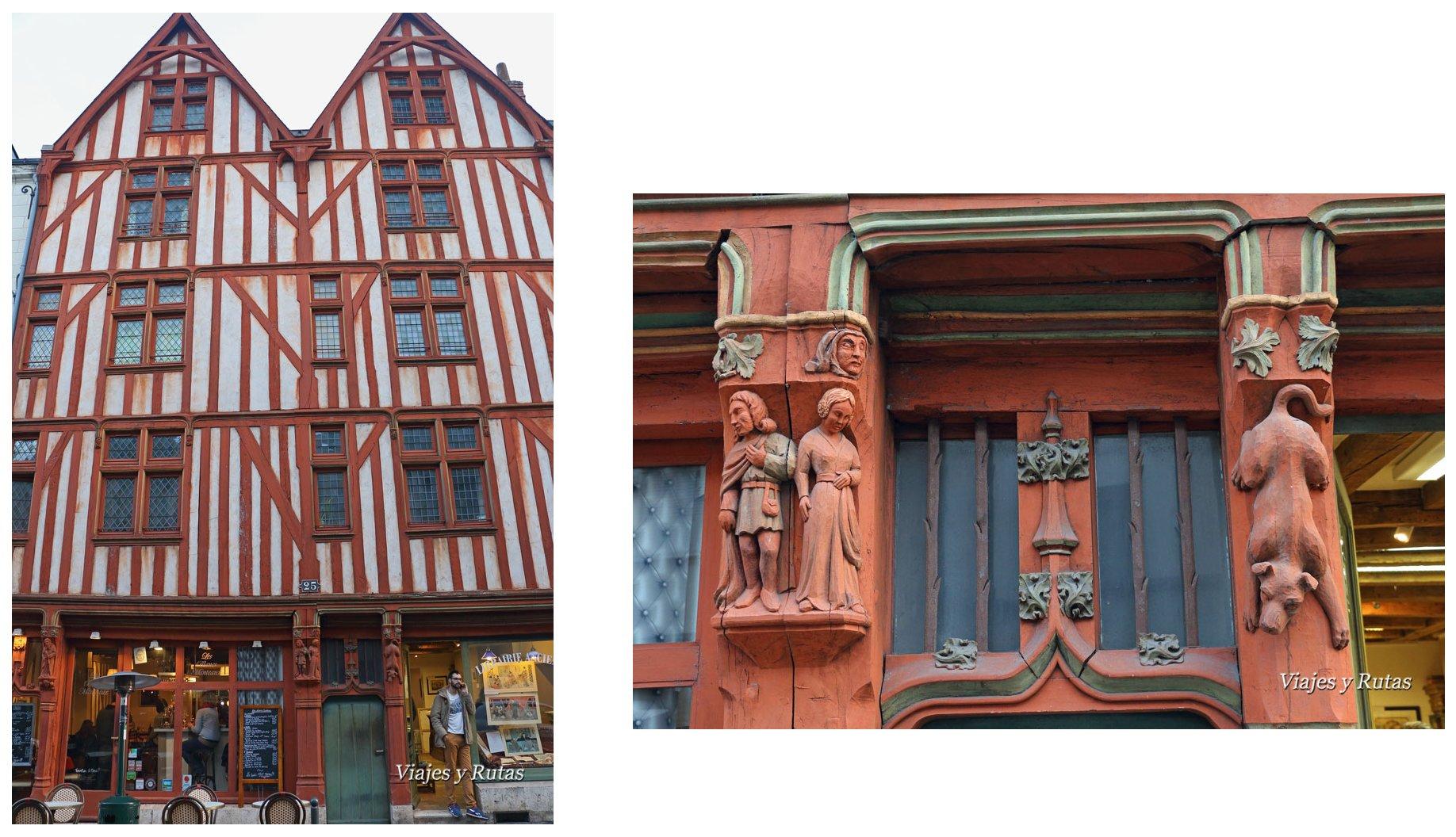 rue Colbert, Tours