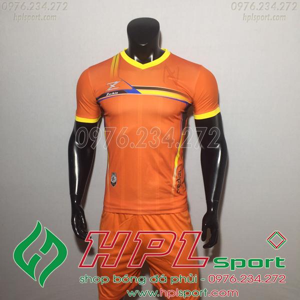 Áo bóng đá ko logo Zavikia HAT Zavi Màu Cam