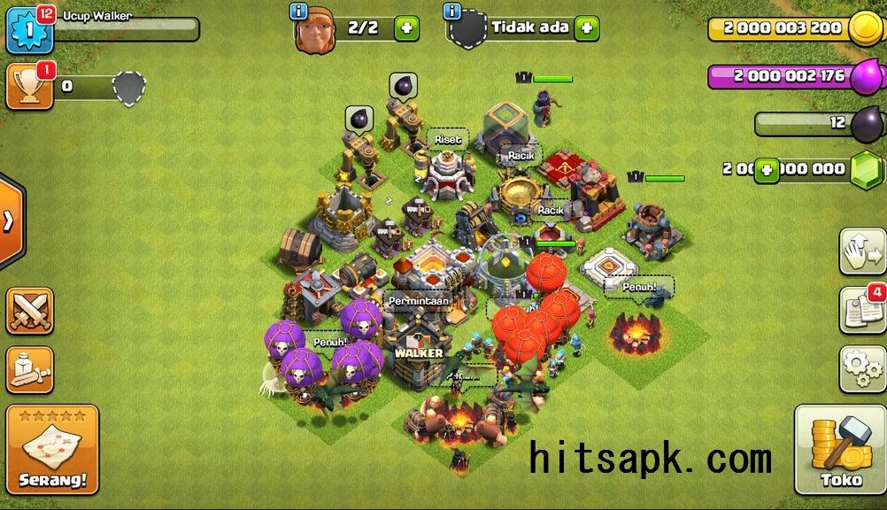 Cheat coc mod apk clash of magic terbaru