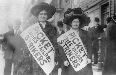 immigrant women strikers 1909 garment workers strike