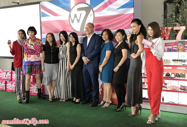 W7 Cosmetics, W7 Launch In Malaysia, check out cash rebate, makeup