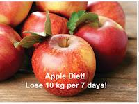 Coba Diet Apel Yuk, Dijamin Turunkan Berat Badan Hingga 3 Kg dalam 1-3 Hari! Begini Caranya!!
