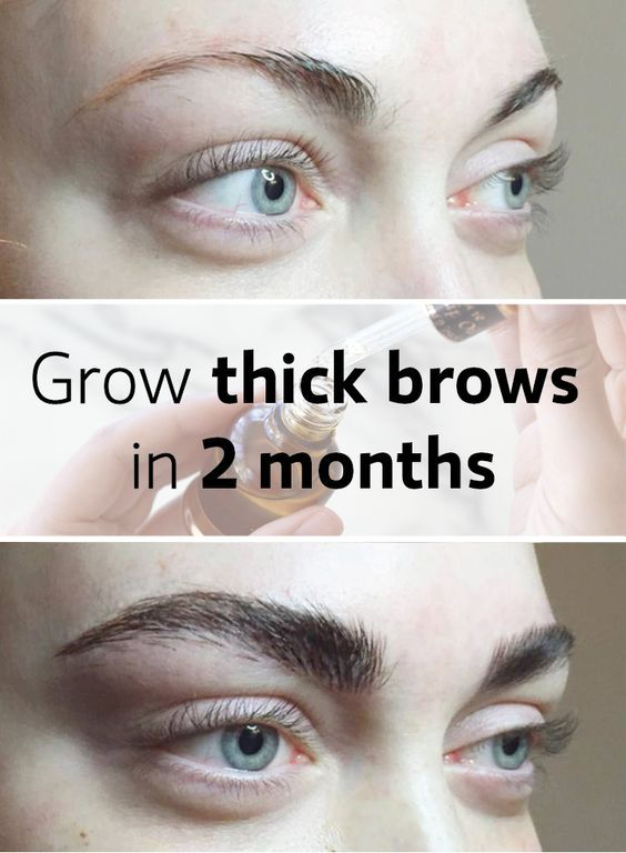 How To Grow Thick Eyebrows Naturally Healthy Mom
