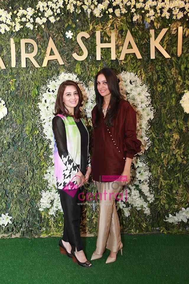 Saira Shakira Opens Flagship Store In Lahore