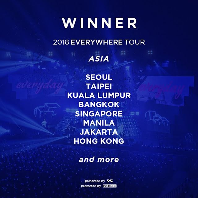WINNER 2018 EVERYWHERE TOUR