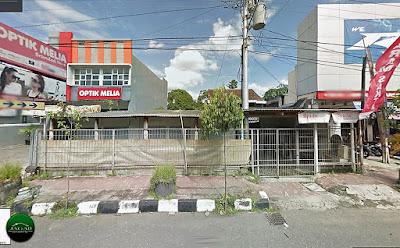 Tanah dan Bangunan Tepi jalan A.M Sangaji