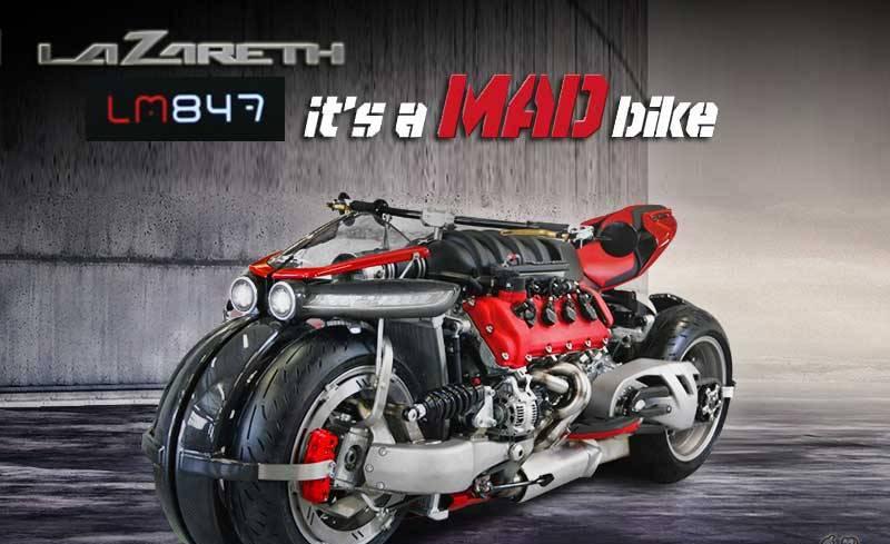 Motor LM847 di Nobatkan Bertenaga di Dunia