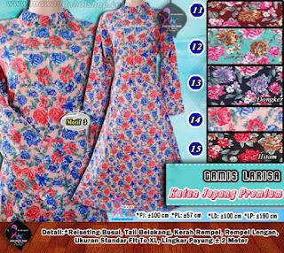 Gamis katun jepang premium motif terbaru harga murah 75.000 (3)