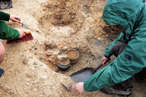 Vacceo-Roman burials discovered in Spain's Pintia archaeological site