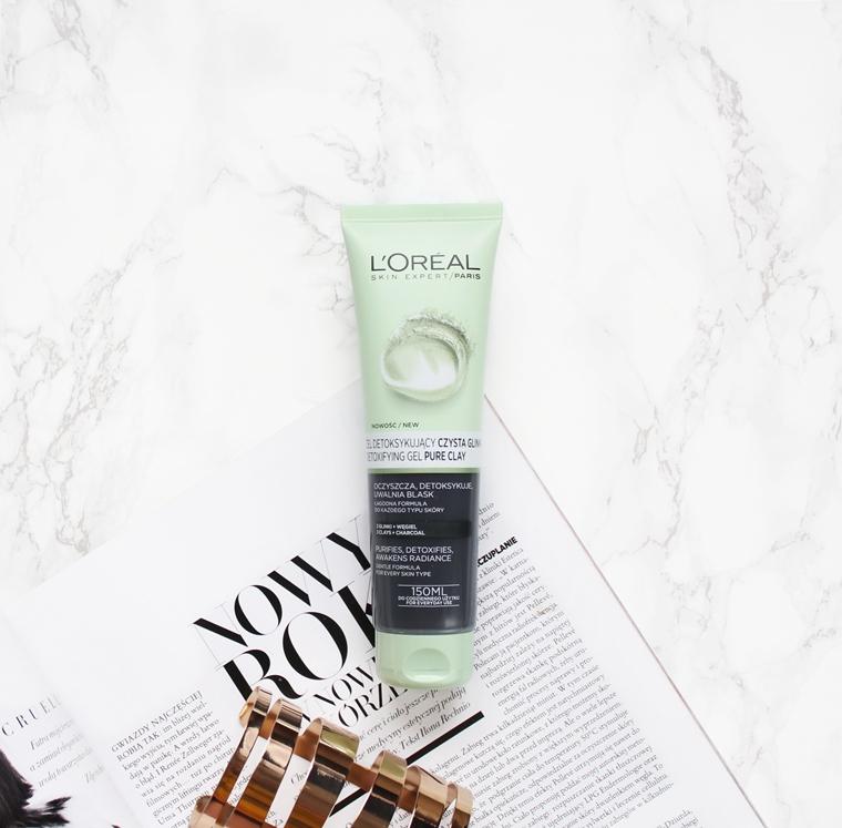 L`Oreal Paris Pure Clay Detoxifying Gel Detoksykujący żel do mycia twarzy Czysta Glinka