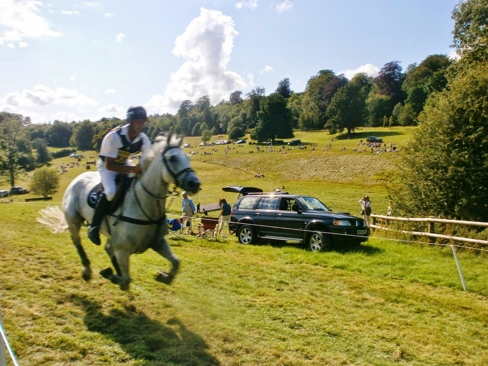 Andrew Nicholson at Gatcombe Festival of Eventing