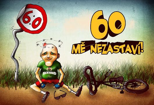 oslava 60 narozenin 60 mě nezastaví Pozvánka na oslavu tatínkových narozenin pro  oslava 60 narozenin