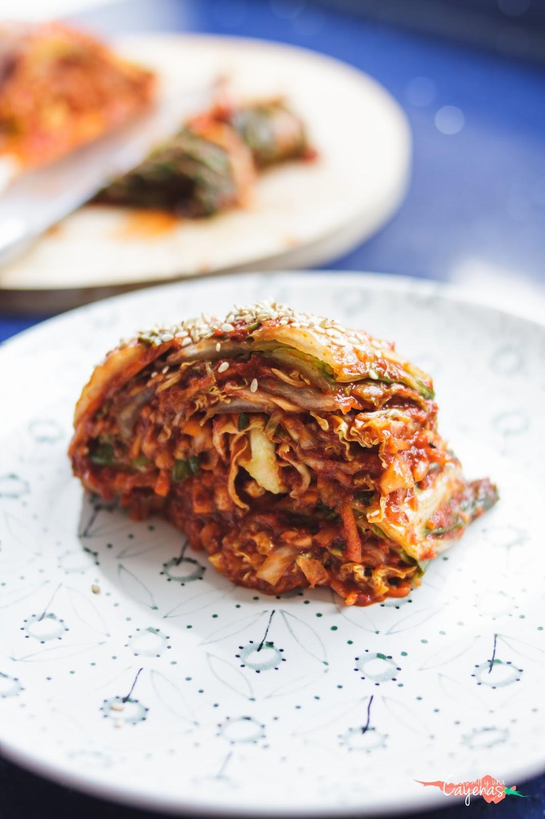 Kimchi 김치 Las Mil Y Una Cayenas