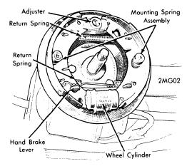 repair-manuals: Austin America 1968-71 Brakes Repair Manual